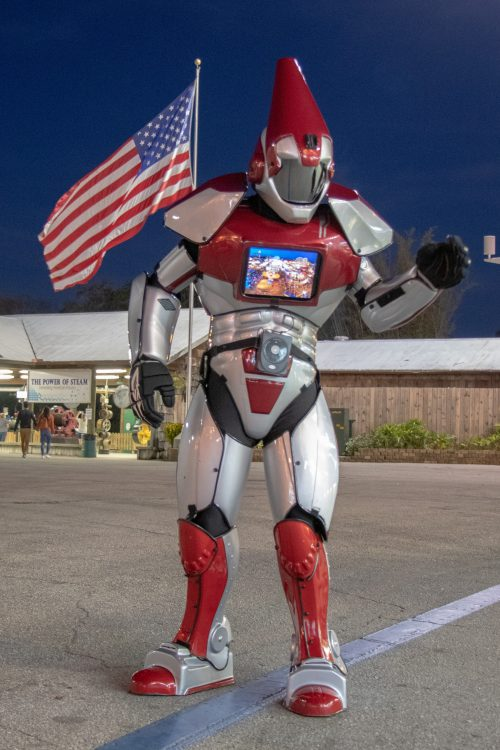 Bot The Robot American Flag
